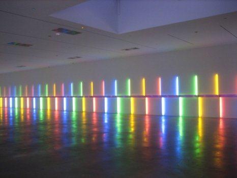 Site-specific installation de Dan Flavin