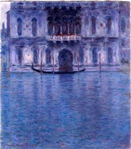 Claude Monet - Palazzo Contarini, Venezia, 1908