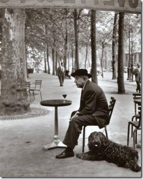 Jacques Prévert © Robert Doisneau