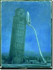 Night in Pisa, René Magritte, 1953