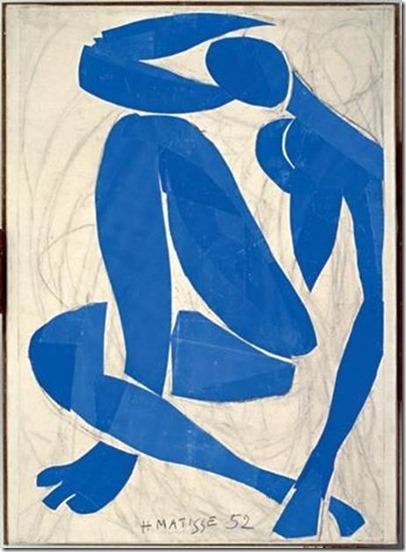 Nu Bleu IV – Jazz d'Henri Matisse 1952