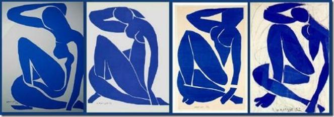 Nu Bleu – 'Henri Matisse
