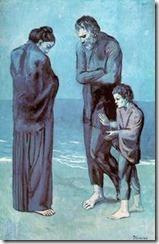 Picasso,Les pauvres au bord de la mer, 1903 –