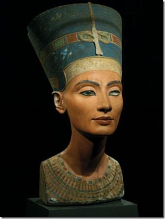Buste de la reine Néfertiti (vers –1350)