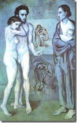 Picasso, La Vie, 1903