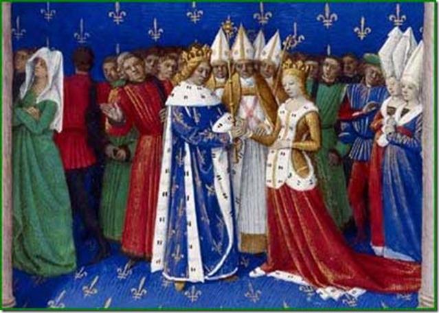 Mariage de Charles IV, en 1322