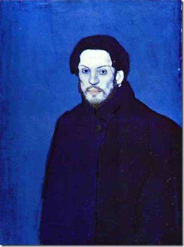 Pablo Picasso, 1901 Autoportrait