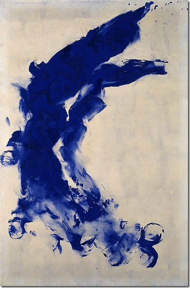 Anthropométries d'Yves Klein