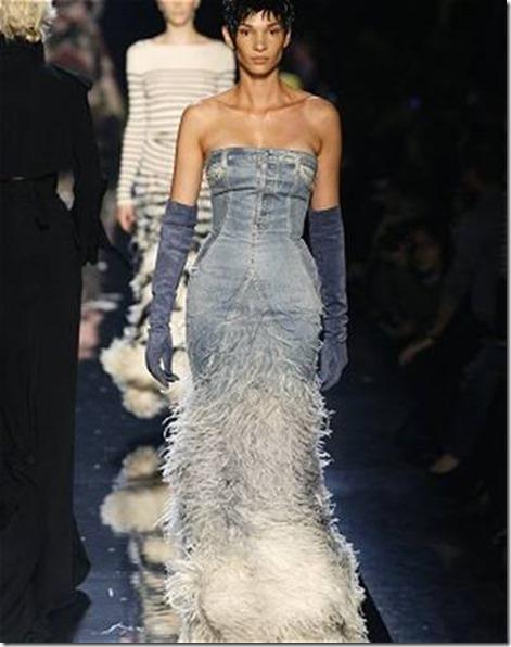 Jean-Paul Gaultier-jean_ Robe haute couture 1999