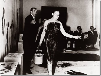 Anthropométries Yves Klein1