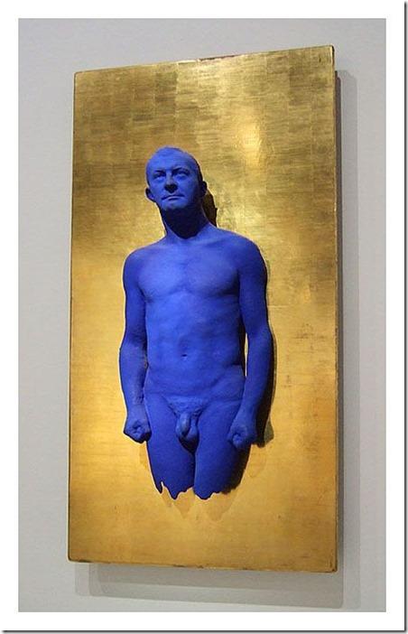 Portrait relief Arman, Yves Klein