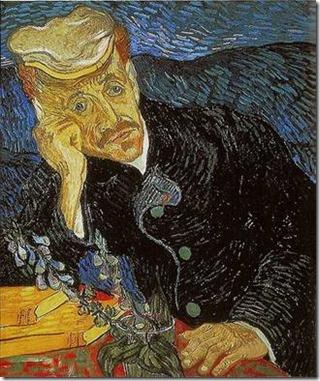 Van Gogh, Portrait du docteur Gachet avec branche de digitale, 1890_1