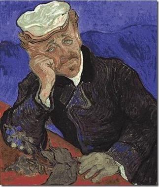 Van Gogh, Portrait du docteur Gachet avec branche de digitale, 1890_2