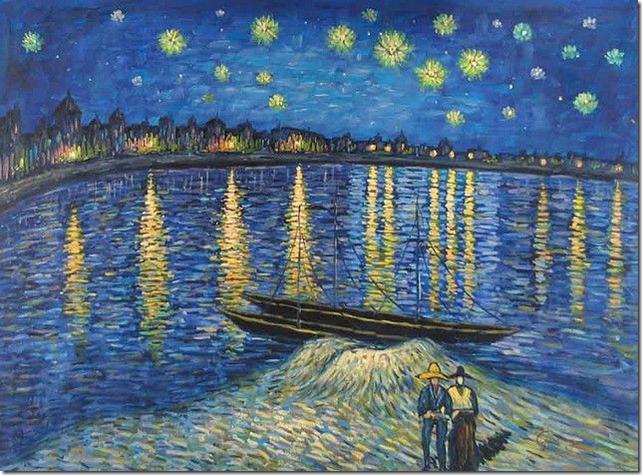 La Nuit étoilée, 1888, Van Gogh