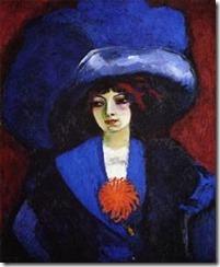 Kees Van Dongen, Le chapeau bleu