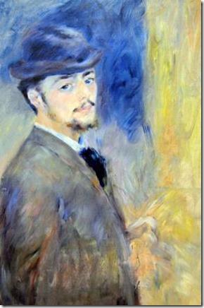 Pierre auguste Renoir autoportrait