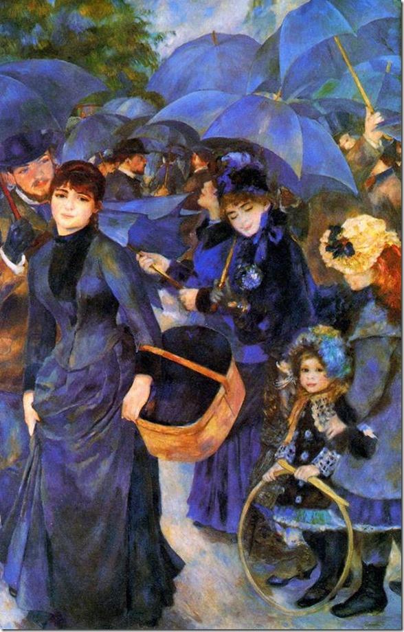 Parapluies - Pierre-Auguste Renoir
