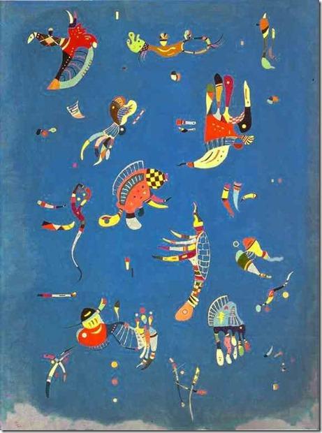 1940 - Wassily Kandinsky, Ciel bleu