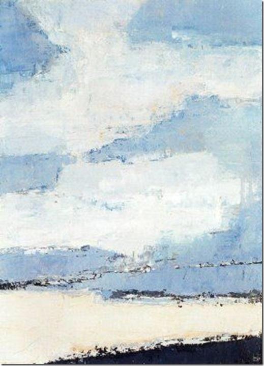 Nicolas de Staël, nuages
