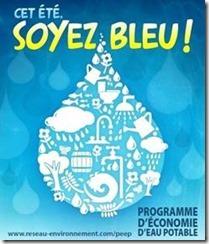 publicité bleue 2