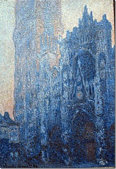 Cathédrale de Rouen, extrait de la série de Claude Monet