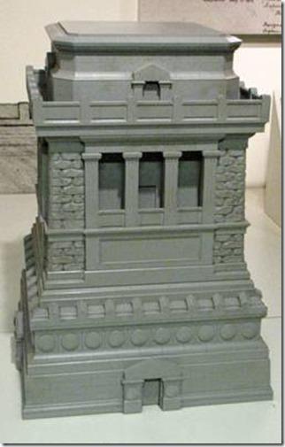 Maquette du piédestal de la statue de la liberté1