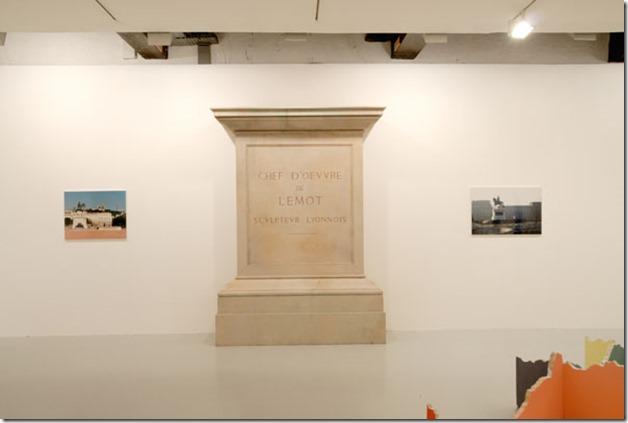 Sans titre (statue équestre de Louis XIV de Lemot), 1991/1998 - Sans titre (socle de la statue équestre de Louis XIV, place Bellecour à Lyon), 1998 - Sans titre (statue équestre de Henri IV de Lemot), 1994/1998