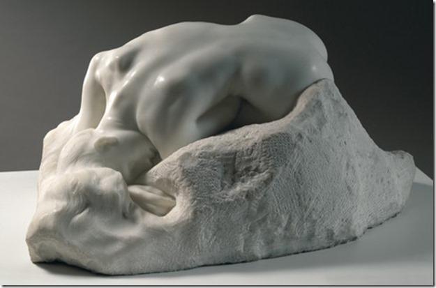 Rodin, La Danaïde, dit aussi La Source, 1890