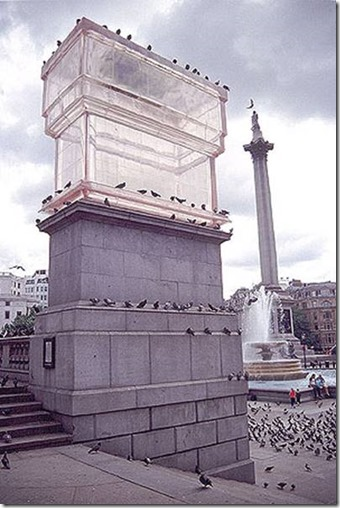 Rachel Whiteread: Monument Untitled