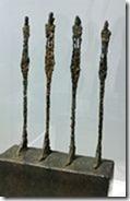 Giacometti Quatre femmes sur socle