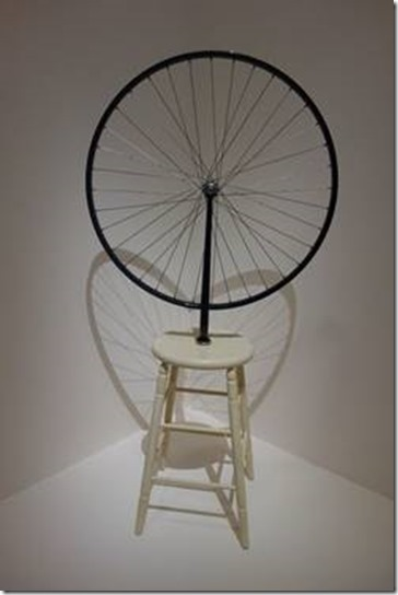 Marcel Duchamp Roue de bicyclette