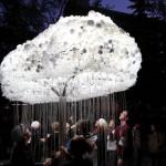 Des matériaux lumineux dans l'art